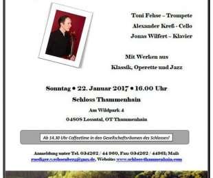Neujahrskonzert im Schloss Thammenhain am 22.01.2017