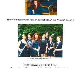 Querflötenensemble Konzert im Schloss Thammenhain am 28.05.2017