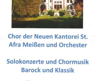Sommer-Serenaden-Konzert - Schlosspark Thammenhain - Sonntag, den 14. Juni 2020, 17:00 Uhr